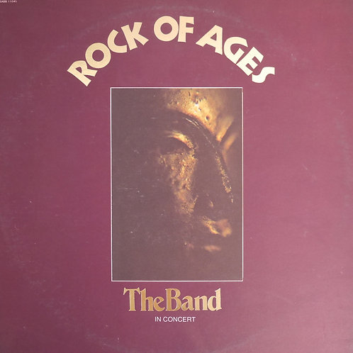 THE BAND / Rock Of Ages(RL刻印/朱ラベ)