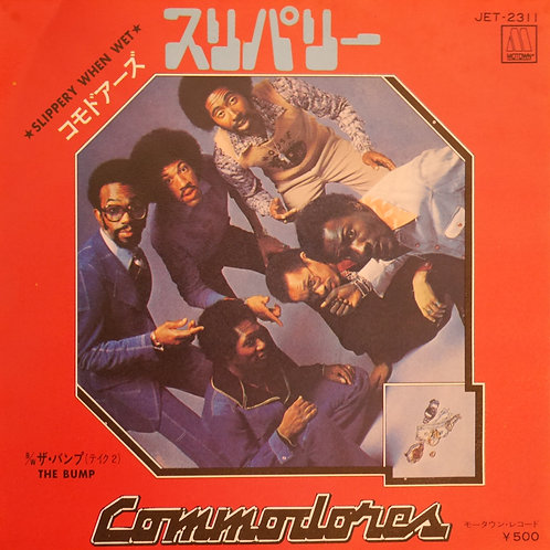 COMMODORES /スリパリー/ SLIPPERY WHEN WET / THE BUMP