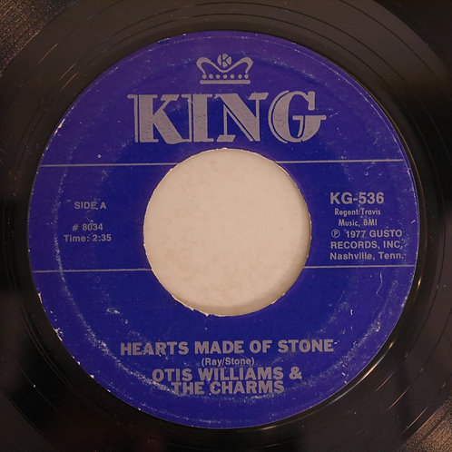 OTIS WILLIAMS AND HIS CHARMS / Gumdrop / Hearts Of Stone