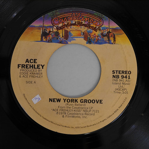 Ace Frehley ( Kiss ) / New York Groove