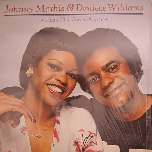 JOHNNY MATHIS&DENIECE WILLIAMS /That's What Friends Are For