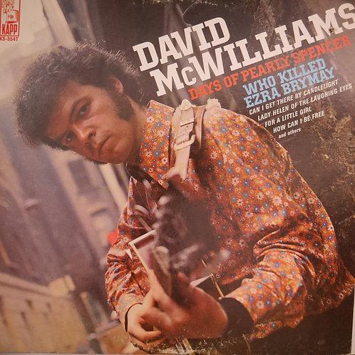 DAVID McWILLIAMS /デヴィッド・マクウィリアムズ WHO KILLED EZRA BRYMAY