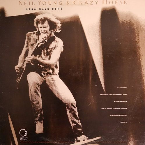 "NEIL YOUNG & CRAZY HORSE / Long Walk Home(12""プロモ)"
