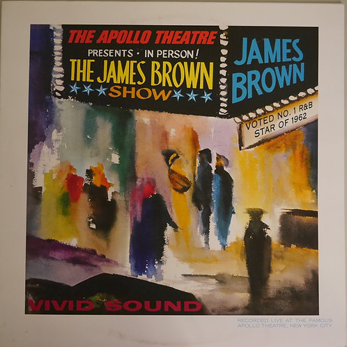 JAMES BROWN / Live At The Apollo(180g)