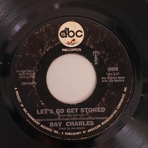 RAY CHARLES / Let's Go Get Stoned / The Train