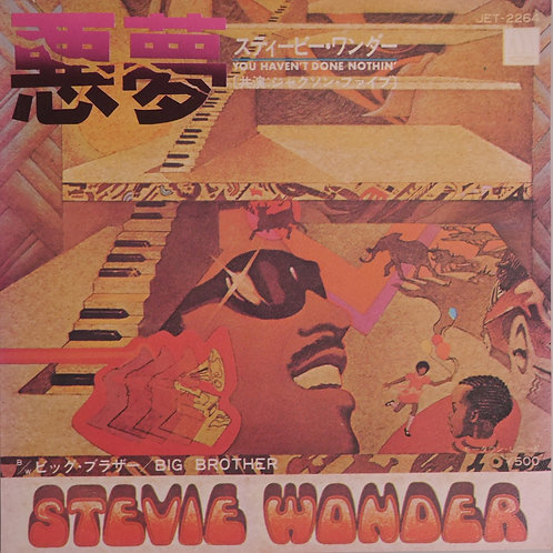 STEVIE WONDER / 悪夢 YOU HAVEN'T DONE NOTHIN
