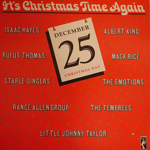 V.A. (ISAAC HAYES , ALBERT KING , EMOTIONS etc) / It's Christmas Time Again