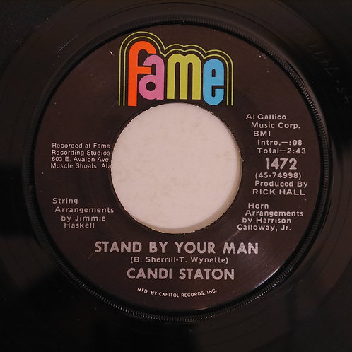 CANDI STATON / Stand By Your Man c/w How Can I Put Out The Flame
