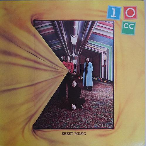 10CC / Sheet Music(STERLING 刻印)