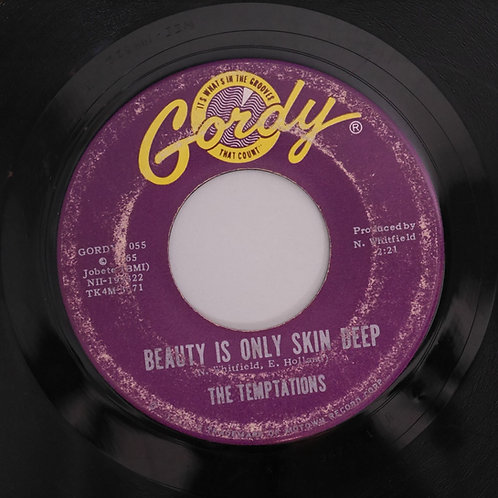 THE TEMPTATIONS /BEAUTY IS ONLY SKIN DEEP / YOU'RE NOT AN ORDINARY GIRL