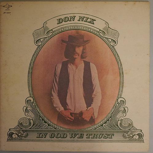 Don Nix / In God We Trust