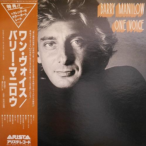 バリー・マニロウ /ONE VOICE    N/MINT