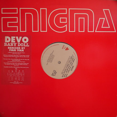 DEVO /BABY DOLL REMIXED BY IVAN IVAN   プロモコピー