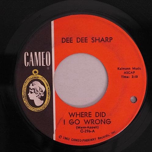DEE DEE SHARP / Where Did I Go Wrong / Willyam Williyam