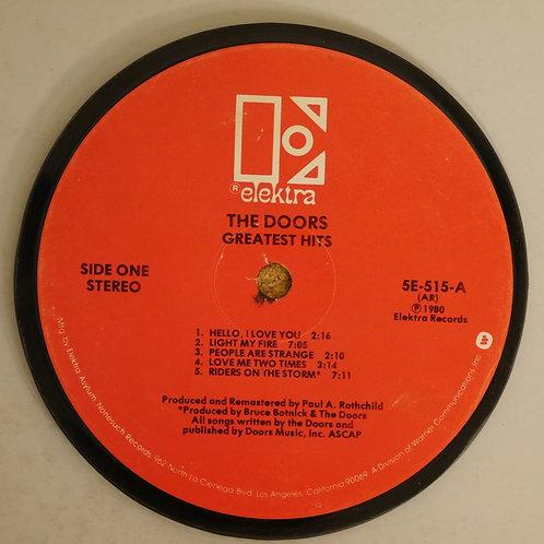 DOORS / レコード再利用ラベルコースター