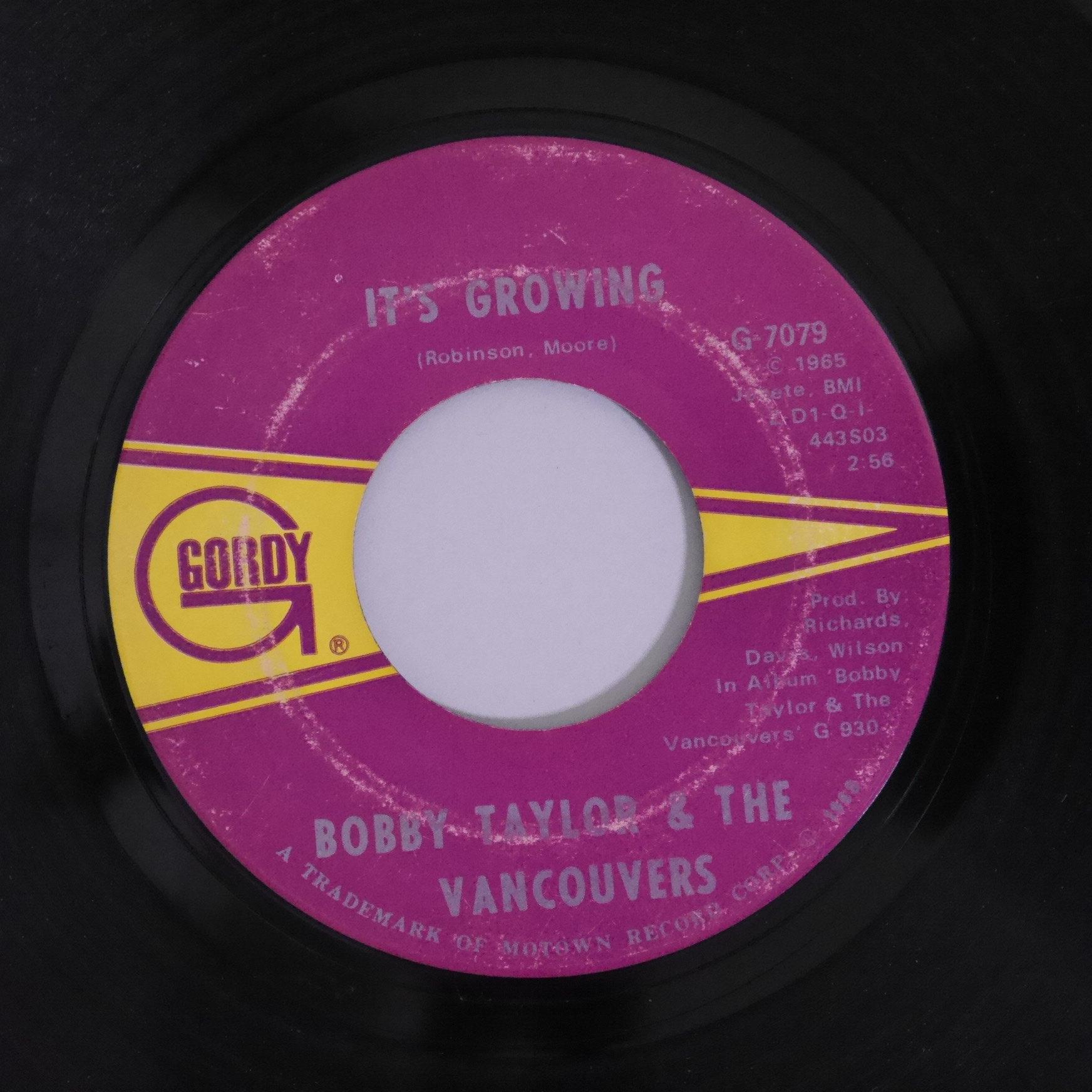 Bobby Taylor & Vancouvers / Malinda   anchorrecord