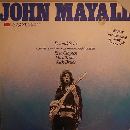 John Mayall / PRIMAL SOLOS(STERLING 刻印)