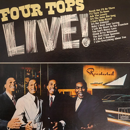 FOUR TOPS / フォー・トップス Live!