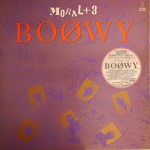 BOOWY / Moral + 3