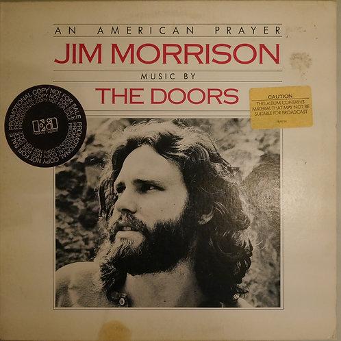 JIM MORRISON (MUSIC BY DOORS) / AN AMERICAN PRAYER (US 白プロモ)