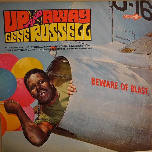 GENE RUSSELL / UP AND AWAY(白プロモ)