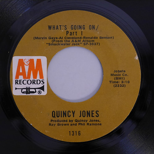 QUINCY JONES / What's Going On (P1&P2)