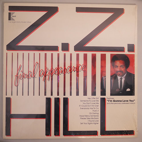 Z.Z. HILL /FINAL APPEARANCE