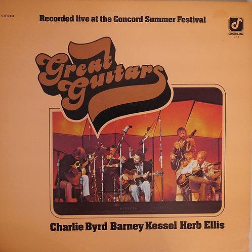 CHARLIE BYRD / HERB ELLIS / BARNEY KESSEL / GREAT GUITARS