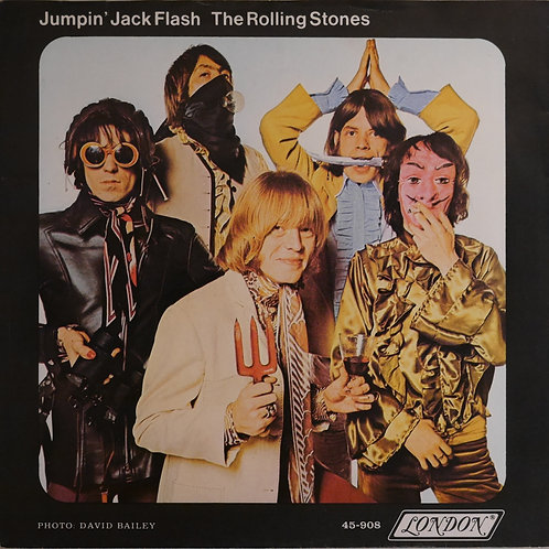 THE ROLLING STONES / Jumpin' Jack Flash c/w Child Of The Moon