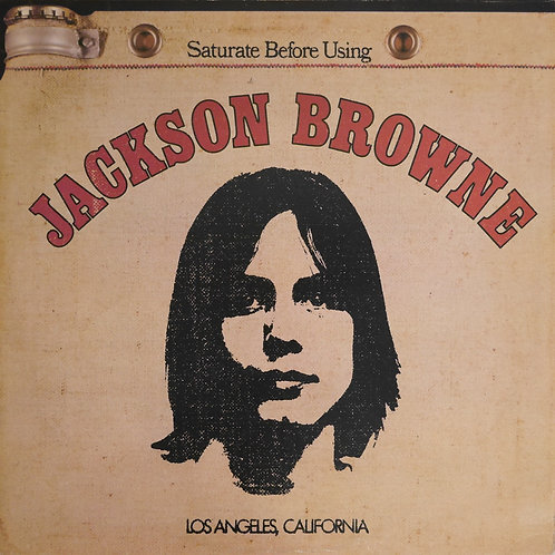 JACKSON BROWN /SATURATE BEFORE USING (UK盤)