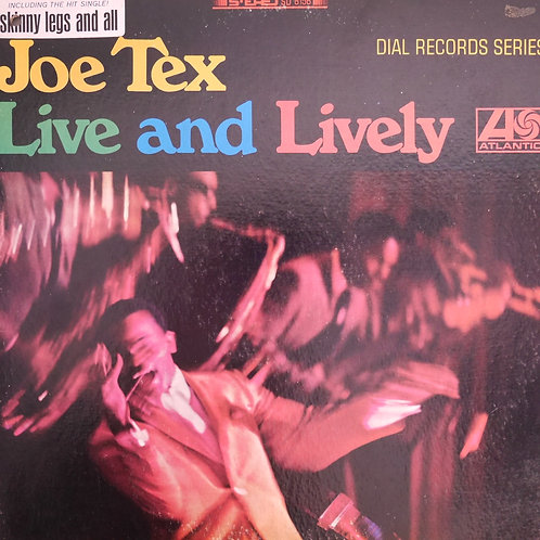 JOE TEX / LIVE AND LIVELY