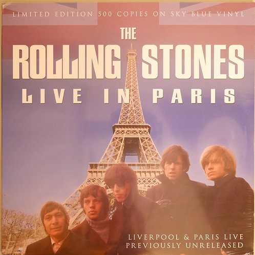 THE ROLLING STONES / LIVE IN PARIS (ブルー・ヴァイナル )