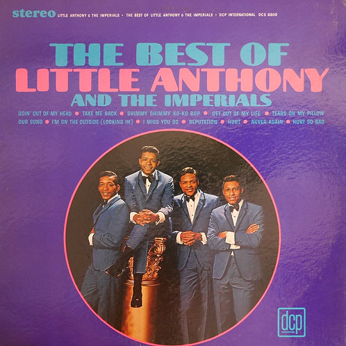 Little Anthony & The Imperials / THE BEST OF LITTLE ANTHONY & THE IMPERIALS