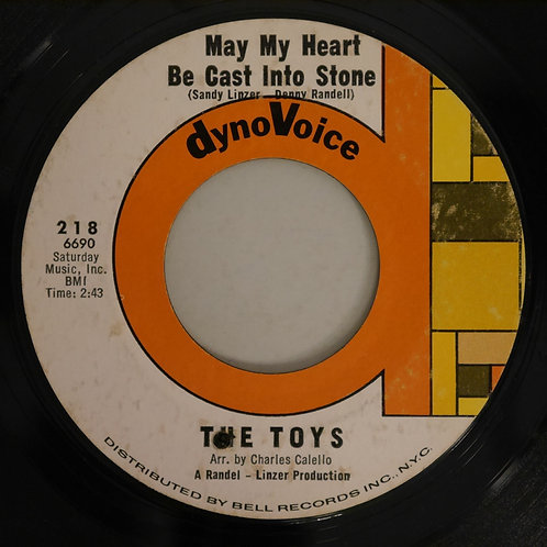 THE TOYS /MAY MY HEART BE CAST INTO STONE /  ON BACK STREET