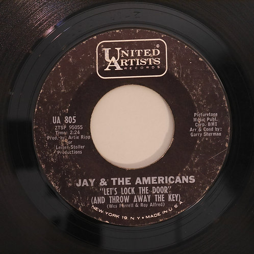 JAY & THE AMERICANS /LET'S LOCK THE DOOR / I'LL REMEMBER YOU