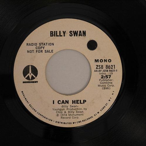 Billy Swan / I Can Help(プロモ白ラベ)
