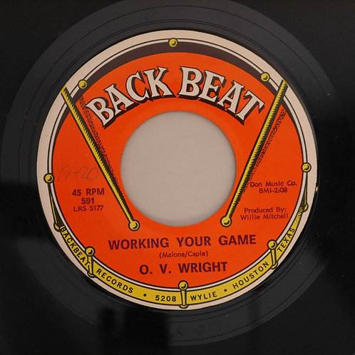 O.V. Wright / Oh Baby Mine / Working Your Game N/MINT