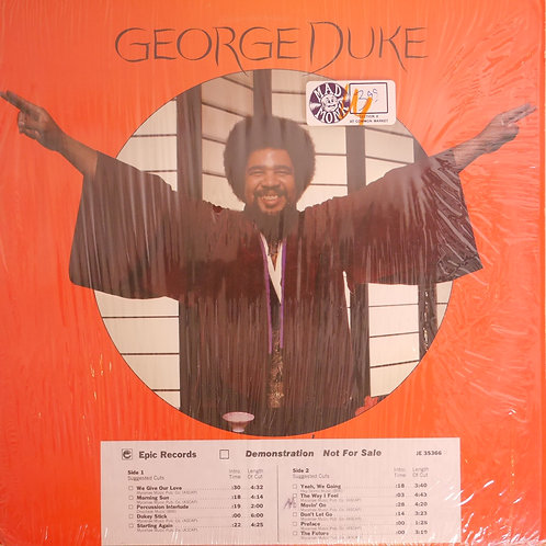George Duke / Don't Let Go(US プロモ白ラベル)
