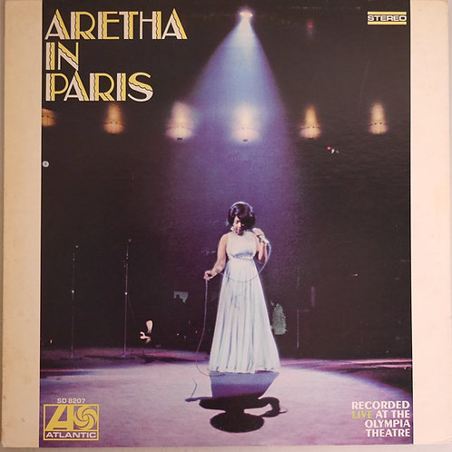 ARETHA FRANKLIN / Aretha In Paris