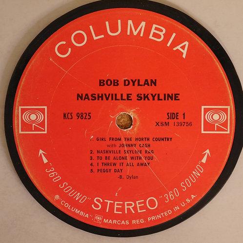 BOB DYLAN / レコード再利用ラベルコースター