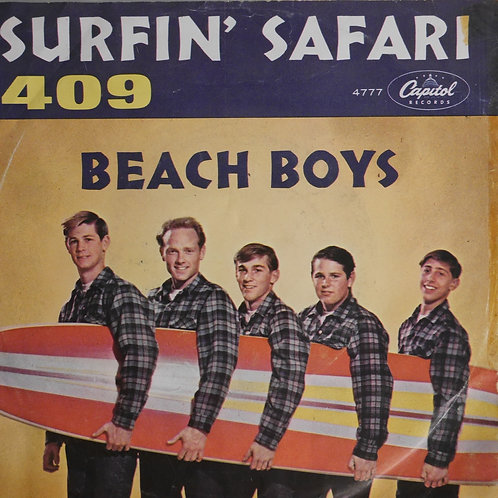 THE BEACH BOYS / Surfin' Safari / 409 (US Orig.+JKT)