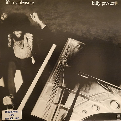BILLY PRESTON / IT'S MY PLEASURE(プロモ白ラベル)