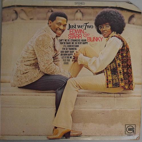 Edwin Starr & Blinky / Just We Two(Randy Kling「       K 」刻印)