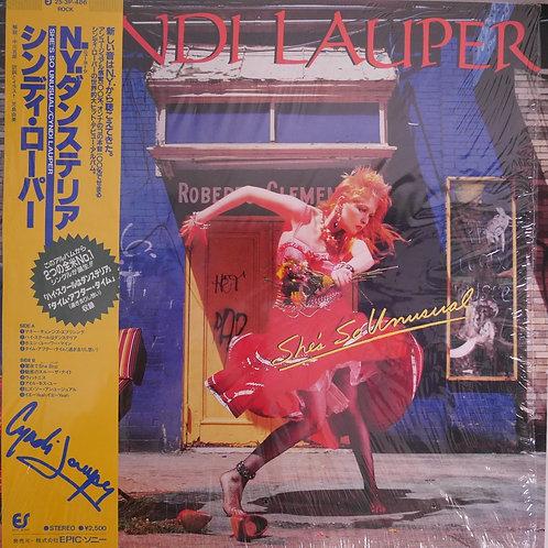 CYNDI LAUPER / N.Yダンステリア She's So Unusual