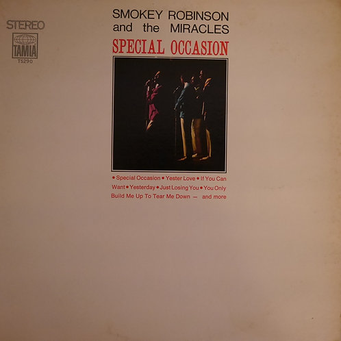 Smokey Robinson and The Miracles / Special Occasion