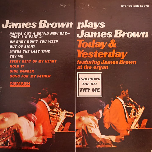 JAMES BROWN AT THE ORGAN JBが奏でるオルガンのインストアルバム US SMASH