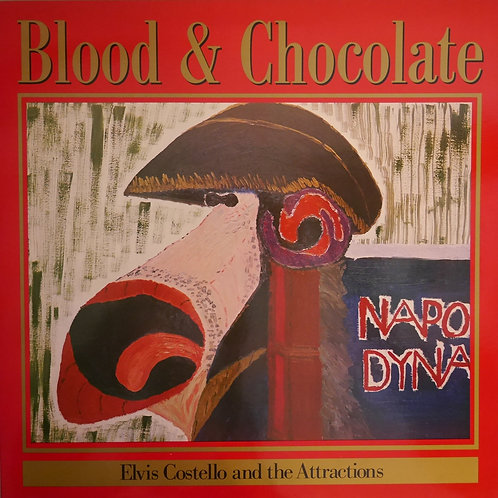 ELVIS COSTELLO AND THE ATTRACTIONS / Blood & Chocolate(UKオリジナル)