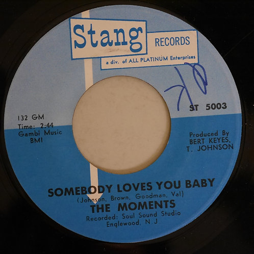 MOMENTS / Somebody Loves You Baby