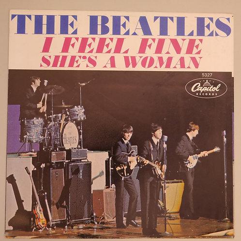 THE BEATLES / I FEEL FINE / 64年オリジナルPスリーブ付 N/MINT