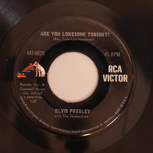 ELVIS PRESLEY /Are You Lonesome Tonight? / I GOTTA KNOW